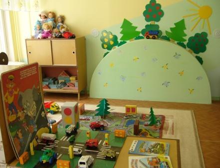 Как оформить уголок пдд в детском саду своими руками